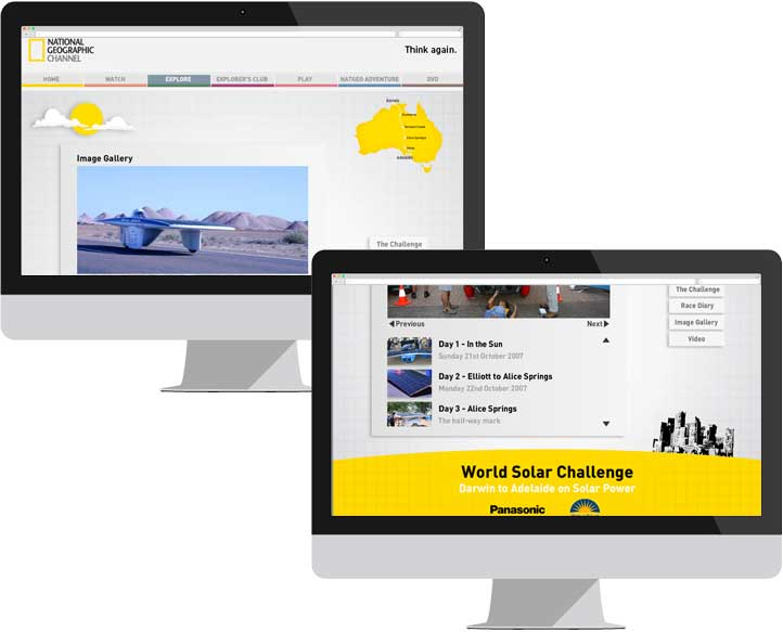 NGC World Solar Challenge Website